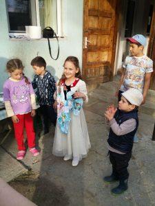 Lala's birthday, Deni, Stefan, Lala, Vlad and Rares